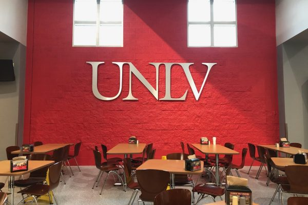 UNLV Dining Commons sign